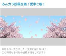 ♯投稿企画 愛車と桜🌸