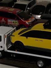 黄色の新型デリカ 完成