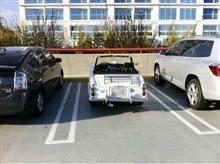 半世紀も経つと車のサイズ感がこうも違う