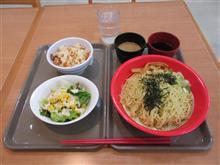 (スガキヤ) ざるラーメン 五目御飯 サラダ