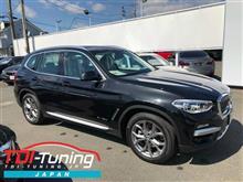 【BMW X3 20d LDA-TX20 ディーゼルサブコンTDI Tuning】インプレ頂きました。