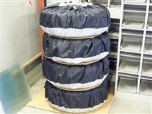 タイヤカバー 4本組  Lサイズを購入してみました〜