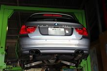 BMW アルピナB3 ブレーキメンテナンス&E46 330 車検