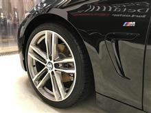 【SurLuster Lab】今日のお車・BMW 420i M Sports
