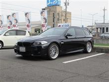 メンテナンスは大事...BMW F11 523d エンジンオイル交換 4CT-S