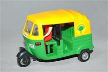 インド製1/20 三輪タクシー(オートリキシャー)、