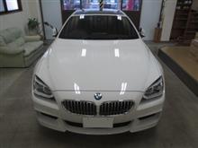 BMW 6シリーズ(F06)グランクーペ、採寸&装着確認(完成)