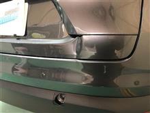 【マツダ CX-8 リヤ廻り追突事故 板金・塗装・修理】 東京都立川市内よりご来店のお客様です。