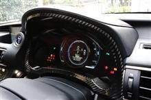 レクサスRC/RC F後期型用ドライカーボンメーターインナーフード予約販売開始!