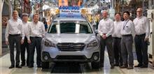 _φ(・_・ スバル、米国生産400万台を達成…日本国外唯一の生産拠点  2019.4.25