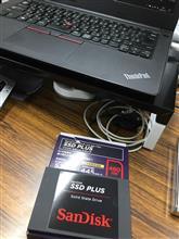 E470 SSD化
