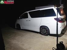 夜の洗車はNGだけど、NG解除になるほど明るい!