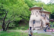 トーベ・ヤンソンあけぼの子どもの森公園、きのこの家の「埋め木」、4500年前から続く日本の修復技術。