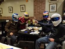 平成最後の晩餐は、チームメイトと共に✨