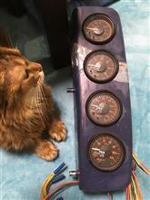 ★ブースト計、燃圧計、油温計、排気温度計