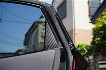 シビック用ドライカーボンAピラーカバー4点セット予約販売開始!