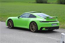 GT3をターボエンジンで登場させるのか?GTSでこのウイングは無いだろうし??