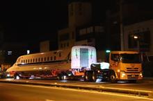 (新幹線) N700A・G48の陸送を見る♪(JR浜松工場)