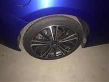新しいタイヤについて。