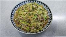 台所に復帰  #料理 #豚と春キャベツの味噌炒め #サラダ #トマトスープ