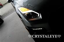 R35 GT-Rに後期スタイルファイバーLEDヘッドライト取付!