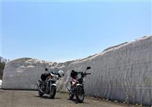 バイク ツーリング  岩手県 八幡平アスピーテライン
