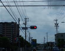 静岡の古式な信号機