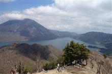 中禅寺湖を行く新緑ハイク