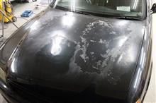 トヨタ チェイサー 塗装劣化修理 東京都日野市よりご来店のお客様です。