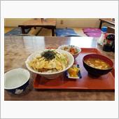 豊田南部のレトロ食堂にてカツ ...