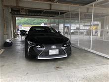 神戸トヨペットの走行会・LC500年次改良前車両と改良後車両の乗り比べ・淡路オフ会