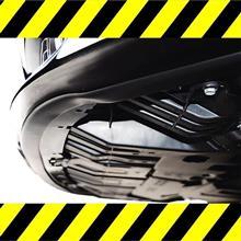 ガリガリ経験のあるアナタに!ガリガリ ガリ傷防止 アンダーガード 傷隠し キズ隠し 軟質PVC製 ガリ傷から守る 車種問わず装着可能