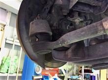 タイロッドエンドのガタを直してからZ32、アライメント調整です。