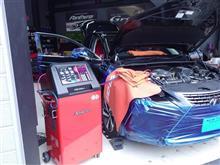 レクサスNXのエアコン性能も完全覚醒!「スナップオン/エアコンサービスステーション」