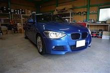 BMW1シリーズ(F20)のスピーカー交換
