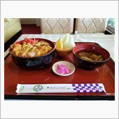 知立のレトロ喫茶店にてカツ丼 ...