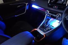 トヨタ 新型RAV4用ダッシュボード&コンソールランプキット販売開始!