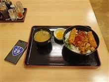 中国道上り加西SA ピリ辛麻婆ヒレカツ丼950円
