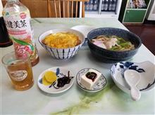 豊田にある小さなレトロ食堂にてカツ丼と肉うどんを愉しむ