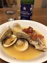 真鯛のアクアパッツァ♪ 休日の料理