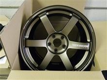 今日のホイール RAYS VolkRacing TE37SAGA(レイズ ボルクレーシング TE37 サーガ) -ニッサン スカイラインGT-R用-