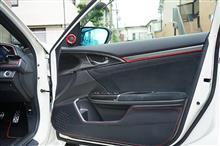 シビック用ドライカーボンインナードアトリムカバー4点セット予約販売開始!