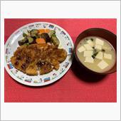 夕ご飯を作ってみました・・( ...