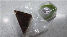 水無月と水まんじゅう  #和菓子 #新岩城菓子舗 #水無月 #水まんじゅう