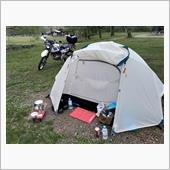 土砂降り戸隠キャンプ場