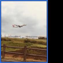 成田空港に飛行機を見に行きました♡