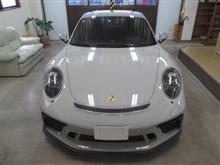 ポルシェ 911(991)GT3 ツーリングパッケージ、採寸&装着確認(完成)