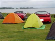 地元でキャンプ!【夕日の郷 松川】
