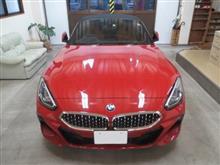 BMW Z4(3代目)Mスポーツ、採寸&装着確認(完成)
