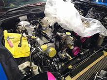 FD3Sエンジンオーバーホール シングルタービン仕様 エンジン載っかるの巻 と D1GP開幕